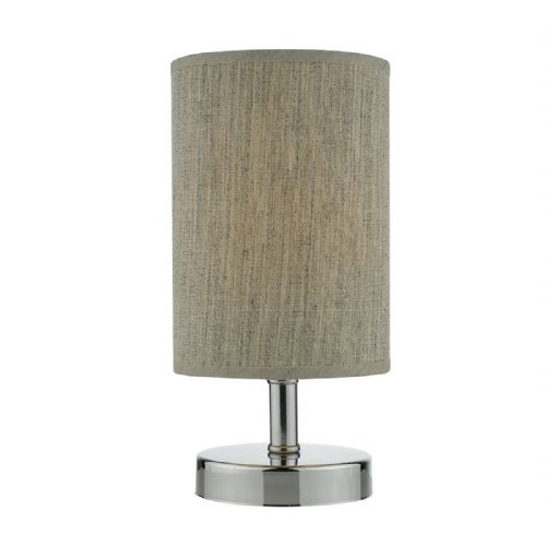Eryn Table Lamp Polished Chrome complete with Shade Touch (Class 2 Double Insulated) BXERY4150-17